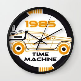 Back to the future - 1985 Time machine Wall Clock