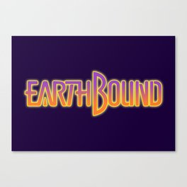 Earthbound Title Screen Canvas Print