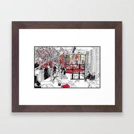 A Coffee Framed Art Print