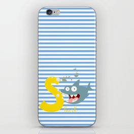 s for shark iPhone Skin