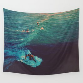 Ride the Wave Wall Tapestry