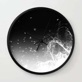 INTOTHE DARKNESS REVERSE Wall Clock