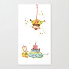 Baby birthday Canvas Print