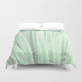 """Green Agave"" by Murray Bolesta! Duvet Cover"