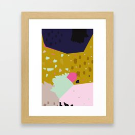 Crumbling No.1 Framed Art Print