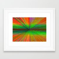 psychedelic Framed Art Prints featuring Psychedelic by Debbie Clayton