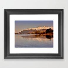 Derwentwater - Lake District Framed Art Print