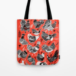 Lil Cluckers Tote Bag