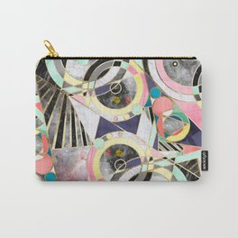 Modern geometric abstract pattern Carry-All Pouch
