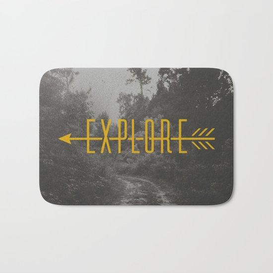Explore (Arrow) Bath Mat
