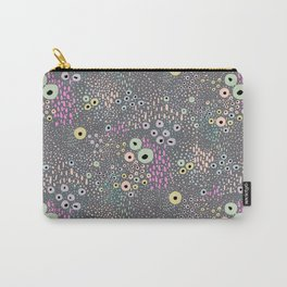 Flowers on Ocean Drive Carry-All Pouch