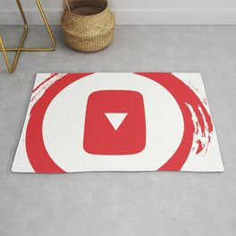 youtube youtuber - broadcast best design you tube for YouTube lover Rug