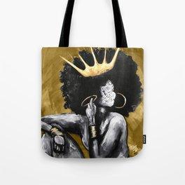 Naturally Queen VI GOLD Tote Bag