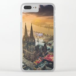 Cologne Cathedral Clear iPhone Case