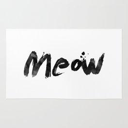 Meow Meow Meow 2 Rug