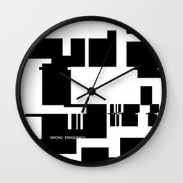 Wrong Frequency Wall Clock
