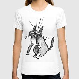 whisker kat T-shirt