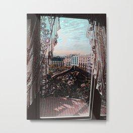 Gaudi's View Metal Print