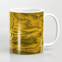 saturn Mugs featuring Saturn by Brian Raggatt