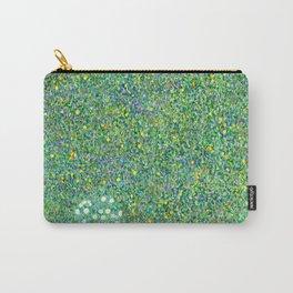 """Gustav Klimt """"Rosebushes under the Trees"""" Carry-All Pouch"""