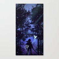 legend of zelda Canvas Prints featuring Legend of Zelda by Noble-6