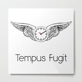 Tempus Fugit Metal Print