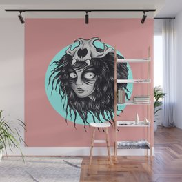 She's A Wild One Wall Mural