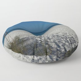 A Peaceful Day At A Marvelous Gulf Shore Beach Floor Pillow