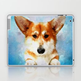 Welsh Corgi Laptop & iPad Skin