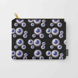 glass eyes  - blue Carry-All Pouch