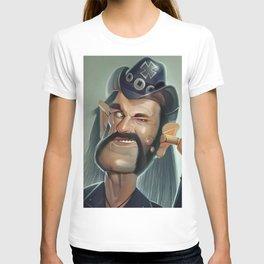 Lemmy hearing aid T-shirt