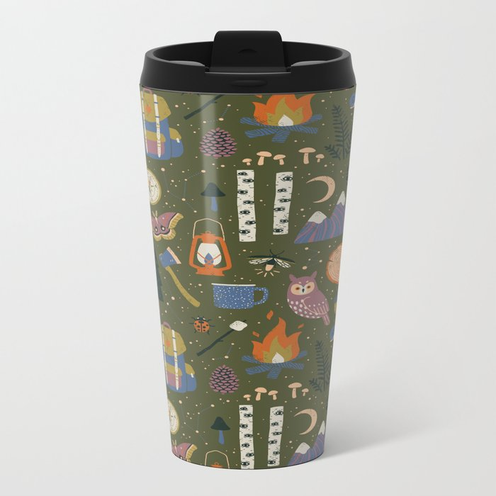 Into the Woods Metal Travel Mug