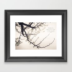 Happy Life Framed Art Print