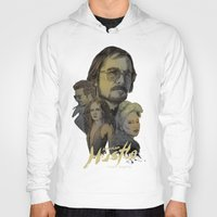 hustle Hoodies featuring American Hustle by RJ Artworks