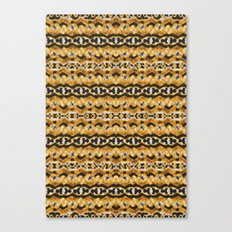 Montana Stripe - Gold Canvas Print
