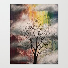 Weightless Canvas Print