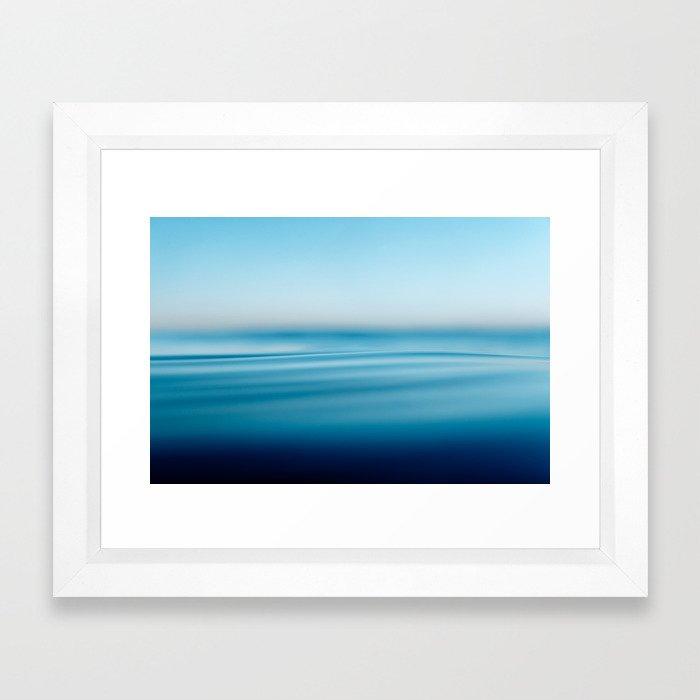 Venice Blue Framed Art Print