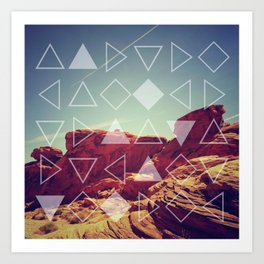 Red Rock Canyon Art Print