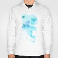 psychology Hoodies featuring a cold nebula by Gabrielle Agius