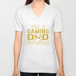 I'M A GAMING DAD Unisex V-Neck