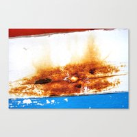 Leaned Canvas Print