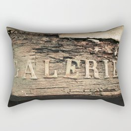 Old gallery in Antibes - French riviera Rectangular Pillow