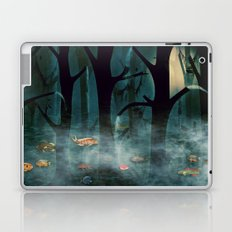 The Woods at Night Laptop & iPad Skin