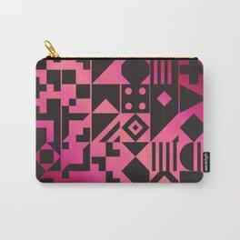 Digital Inkblot Carry-All Pouch