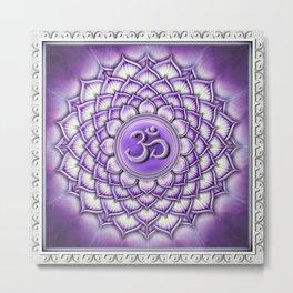 Sahasrara Chakra - Crown Chakra III - Series II Metal Print