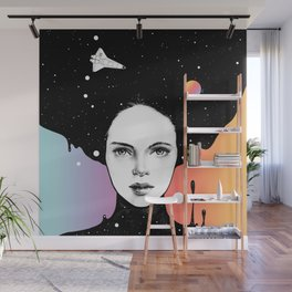 If You Were My Universe Wall Mural