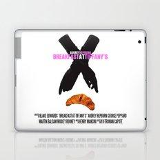 Breakfast at Tiffany's Movie Poster Laptop & iPad Skin