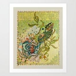 olive nation Art Print