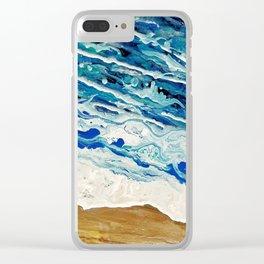 Shoreline Clear iPhone Case