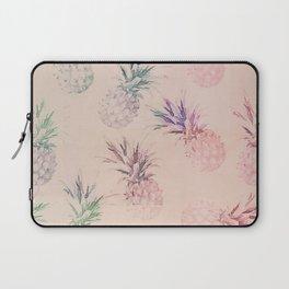 Soft Pastel Pineapple Summe Pattern Laptop Sleeve